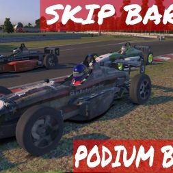 Fun Podium Battle - Skip Barber at Oulton Park iRacing