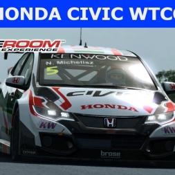 Honda Civic WTCC 2016 at Nordschleife (PT-BR)