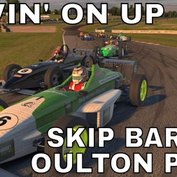 Moving on up - iRacing Skip Barber at Oulton Park Fosters