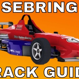 iRacing Skip Barber Track Guide at Sebring International Raceway Season 2 2017