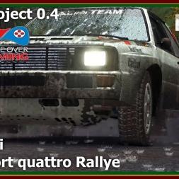 Dirt Rally - RFPE Project 0.4 - Audi Sport quattro Rallye - Kotajärvi