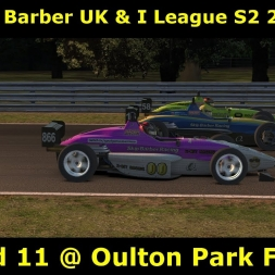 iRacing -  Skip Barber UK and I League @ Oulton Park Fosters