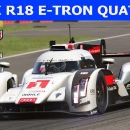 Audi R18 e-tron quattro at Spa-Francorchamps (PT-BR)