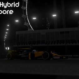 Assetto Corsa VR: Formula Hybrid at Singapore