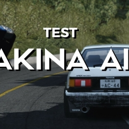Last AI test ( I promise) Akina Downhill!  - Assetto Corsa Version 1.14