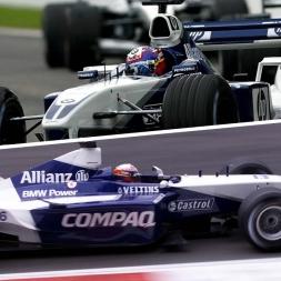 Assetto Corsa Williams FW24 & Williams FW23 comparison @ Spielberg