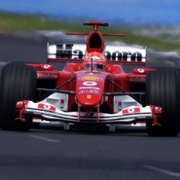 Assetto Corsa Ferrari F2004 @ Catalunya