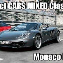 Project CARS McLaren MP4-12C Mixed Classes - Monaco RACE 1440p