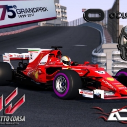 Assetto Corsa VR * 4 ACFL Ferrari SF70-H  Monaco GP hotlaps