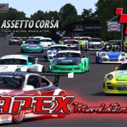 Assetto Corsa * APEX Porsche 997 GT3 AI race [MOD + download]