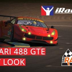 iRacing Ferrari 488 GTE First Look