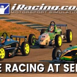 iRacing Skip Barber at Sebring - Close racing