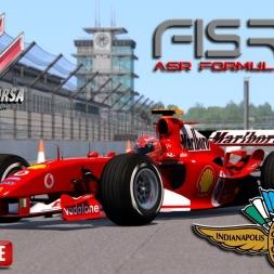 Assetto Corsa 4K * ASR F1 2004 * Indianapolis GP [TVcam download]
