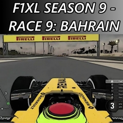 F1 2016 - F1XL Season 9 - Race 9: Bahrain