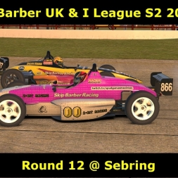 iRacing - Skip Barber UK and I League @ Sebring