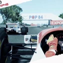 rFactor2 Mixed Reality McLaren MP48 1993 Ayrton Senna Onboard Cam at Montreal