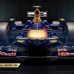 F1 2017 Classic Car Reveal - 2010 Red Bull Racing RB6 - HD