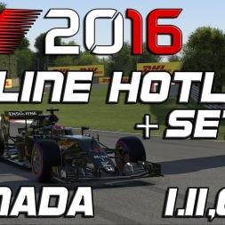 F1 2016   Online Hotlap + Setup   Canada   1.11,679