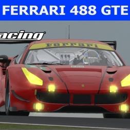 Ferrari 488 GTE at Le Mans (PT-BR)