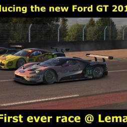 iRacing - First look at Ford GT 2017 @ Le Mans