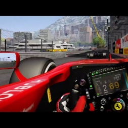 Assetto Corsa: VR Gameplay - Monaco GP - F1 17 (RSS)