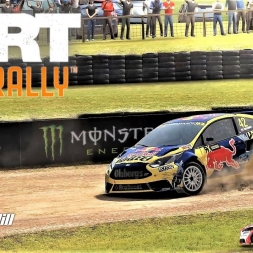 DIRT Rally - Rallycross at Lyden Hill - Ford Fiesta