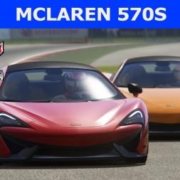 McLaren 570s at Silverstone (PT-BR)