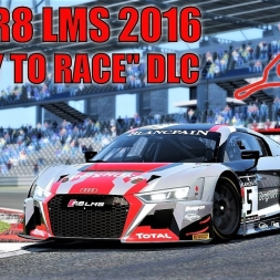 """Audi R8 LMS 2016 HOTLAP at Nurburgring GP - """"READY TO RACE"""" DLC - Assetto Corsa"""