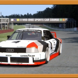 Assetto Corsa * Audi 90 GTO * Mid Ohio [download]