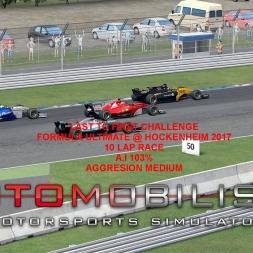 Autmobilista Formula Ultimate @ Hockenheim Last To First Challenge Race