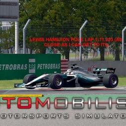 Automobilista Formula Ultimate Lewis Hamilton Canadian GP Pole Lap
