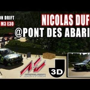 session de Drift @pont des Abarines [ASSETTO CORSA]