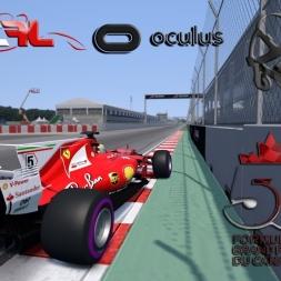 Assetto Corsa VR * ACFL Ferrari SF70-H * Canada GP [3 hotlaps]