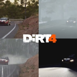 Dirt 4 - Weather Comparison in Spain | Ford Fiesta R5