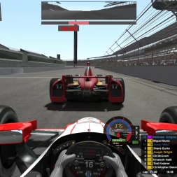 RaceDepartment Indycar @ Indianapolis Motor Speedway (Onboard)