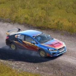 Dirt 4: Subaru Impreza WRX N4 @ Wales