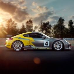 Assetto Corsa: Porsche Cayman GT4 AI Race around Zaandvort!