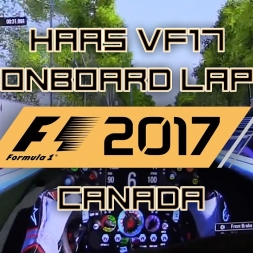F1 2017 ACTUAL GAMEPLAY - HAAS VF17 - CANADA + NEW LED DISPLAY