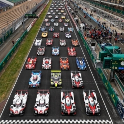 Le Mans 24hr - Qualifying Sessions 1,2,3