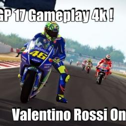 MotoGP 17 Gameplay - Valentino Rossi Barcelona - Catalunya RACE 4k