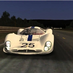 "Tribute to ""Le Mans"" film 1971"