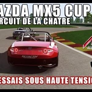 17.06.17 : ESSAIS LIBRES - CIRCUIT DE LA CHATRE - MAZDA MX5 CUP