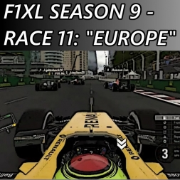 "F1 2016 - F1XL Season 9 - Race 11: ""Europe"""