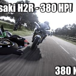 RIDE 2 -  Kawasaki H2R 330HP+ 370KM+ 4K