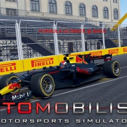 Automobilista Formula Ultimate Red Bull @ Baku Azerbaijan GP F1 2017