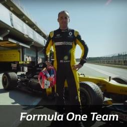 Renault Sport Formula One Team: Robert Kubica Test in Valencia