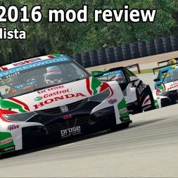 WTCC 2016 and Mont Tremblant GP mod review