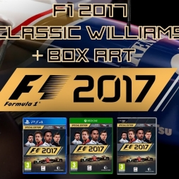 F1 2017 - New Williams Classic Cars and OFFICIAL BOX ART!!!