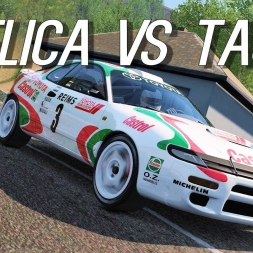 Tajo Hillclimb with the Celica WRC ST185 - Assetto Corsa Oculus Rift Gameplay