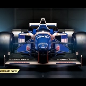 F1 2017 Classic Car Reveal - Williams - HD